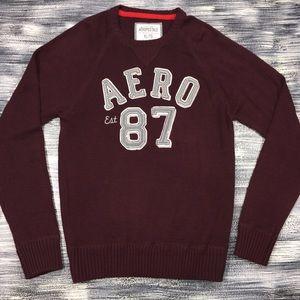 Aeropostale Sweater Sz XL  NWT Aero 87 Graphic